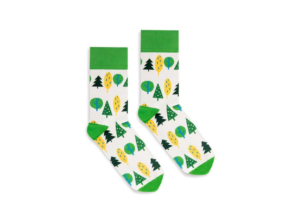 Veselé ponožky Forest