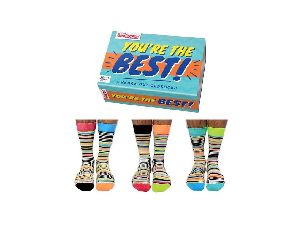Veselé ponožky You are the best veľ.: 39-46