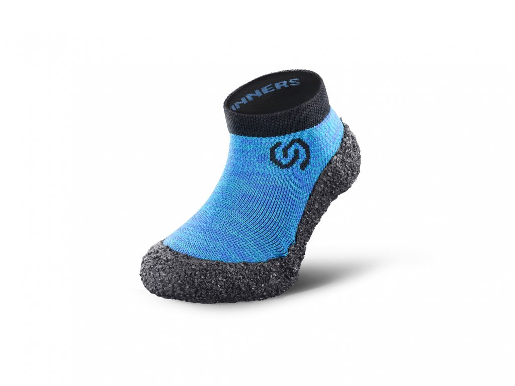 Detské barefoot ponožkotopánky Skinners Ocean Blue