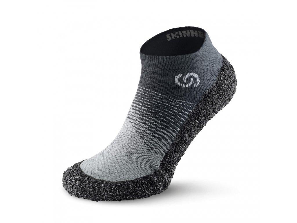 Barefoot ponožkotopánky Skinners 2.0 STONE
