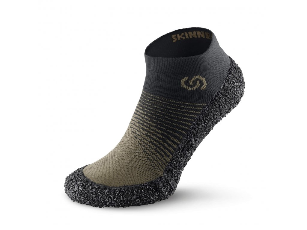 Barefoot ponožkotopánky Skinners 2.0 MOSS