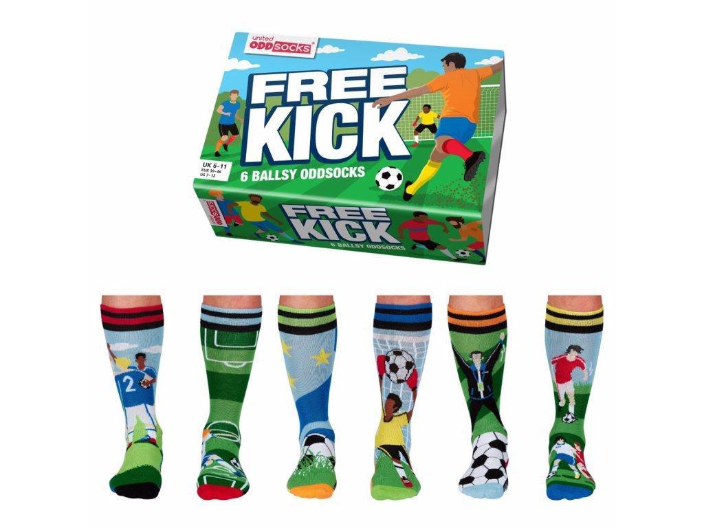 Veselé ponožky Free Kick veľ.: 39-46