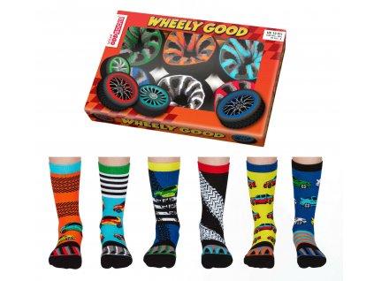 Veselé ponožky Wheely Good veľ.: 31-39