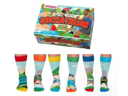 Veselé ponožky Sockathlon veľ.: 39-46