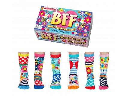 Veselé ponožky BFF - Best Foot Forward veľ.: 31-39