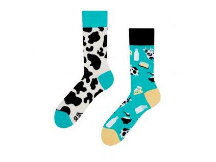 Veselé ponožky Krava od firmy Good Mood