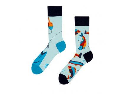 Veselé ponožky Ryby