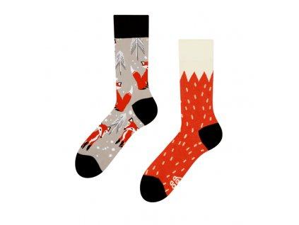 Veselé ponožky Líška od firmy Good Mood