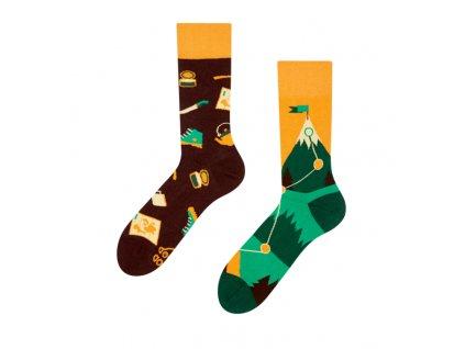 Veselé ponožky Turistika