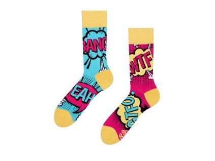 Veselé ponožky Komiks od firmy Good Mood