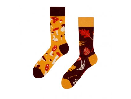 Veselé ponožky Hríby od firmy Good Mood