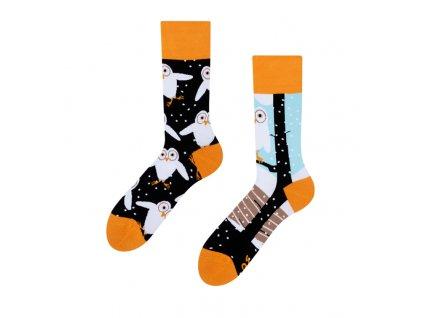 Veselé ponožky Sovy