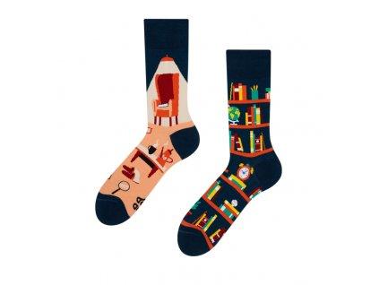 Veselé ponožky Knižnica