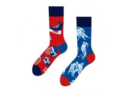 Veselé ponožky Ľadový hokej od firmy Good Mood