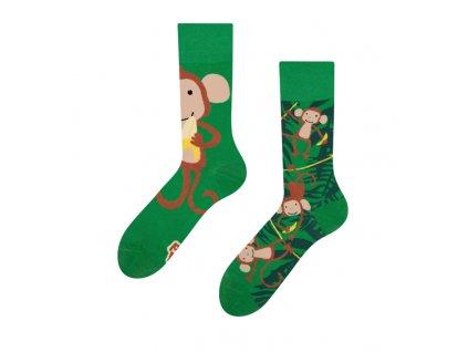 Veselé ponožky Opice