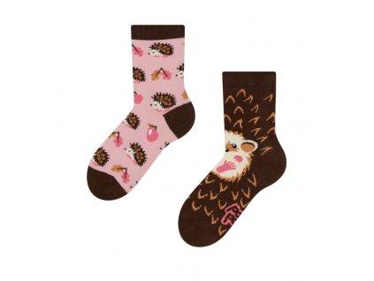 Detské veselé ponožky Ježko