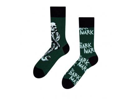 Veselé ponožky Harry Potter ™ - Temné znamenie