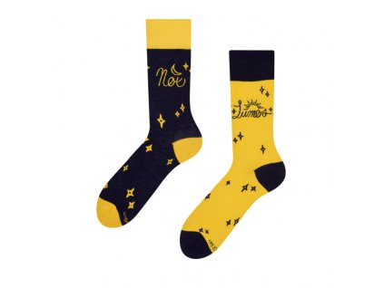 Veselé ponožky Harry Potter ™ - Lumos a Nox