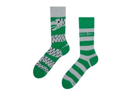 Veselé ponožky Harry Potter ™ - Slizolin
