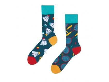 Veselé ponožky Bedminton