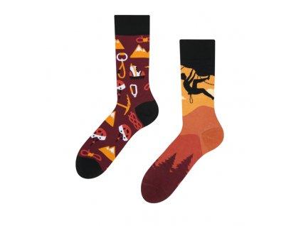 Veselé ponožky Horolezectvo