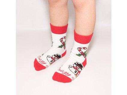 Ponožky detský vianočný mix