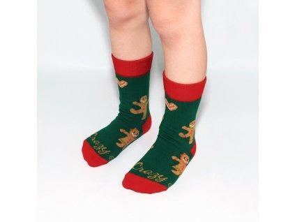 Vianočné ponožky perníčky pre deti