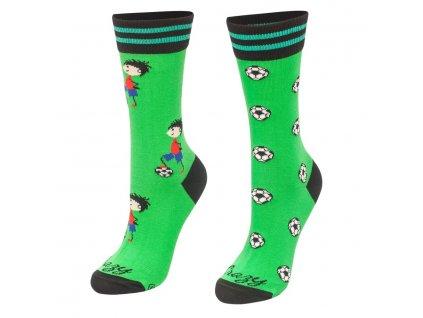 Veselé ponožky Futbalista