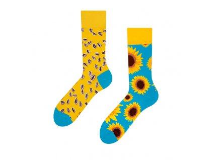 Veselé ponožky Slnečnica