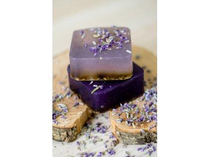 Levanduľové mydlo s olivovým olejom