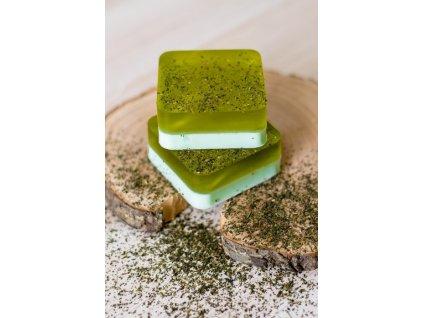 Mydlo so zeleným čajom