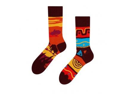 Veselé ponožky Afrika od firmy Good Mood