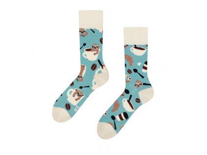 Veselé ponožky Leňochod v pohári