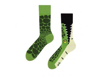 Veselé ponožky Krokodíl