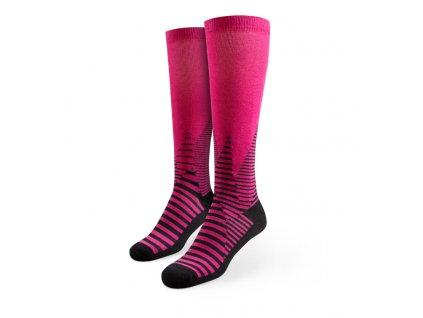 Veselé bežecké kompresné ponožky Hory