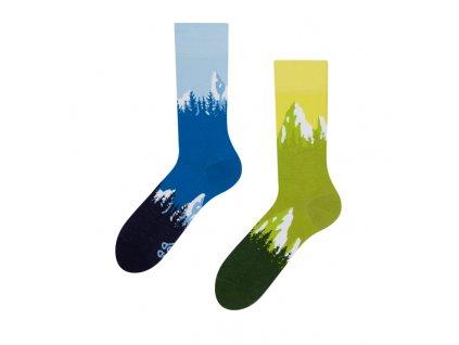 Veselé ponožky Hory od Dedoles