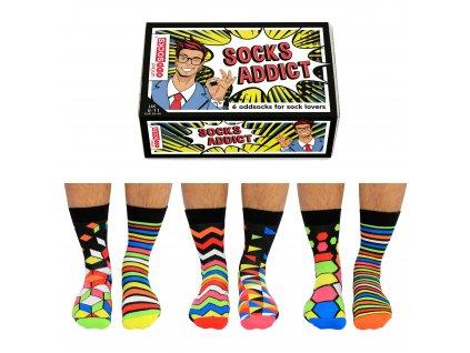 Veselé ponožky Socks Addict veľ.: 39-46