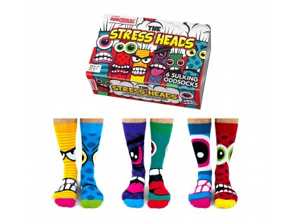 Veselé ponožky Stress Heads veľ.: 39-46