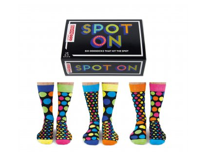 Veselé ponožky Spot on veľ.: 39-46