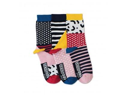Veselé ponožky Adele 3ks veľ.: 37-42