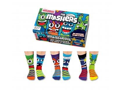Veselé ponožky The Mashers veľ.: 31-39