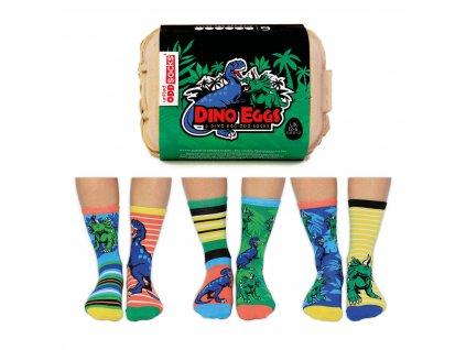 Veselé ponožky Dino Eggs veľ.: 31-39
