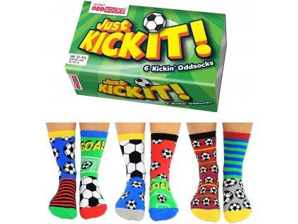 Veselé ponožky Just Kick it