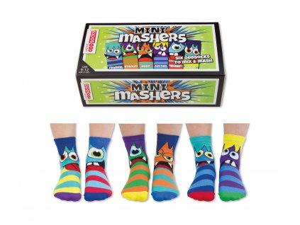 Detské veselé ponožky Mini Mashers veľ.: 27-30