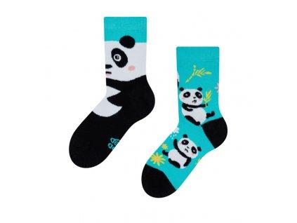 Detské veselé ponožky Panda