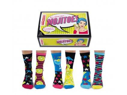 Veselé ponožky Mojito veľ.: 37-42