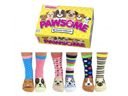 Veselé ponožky Pawsome veľ.: 37-42