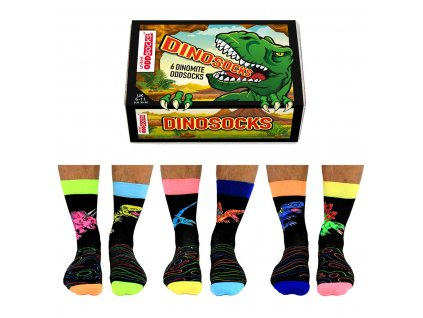 Veselé ponožky Dinosocks veľ.: 39-46