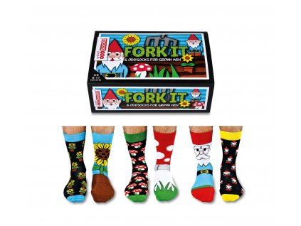 Veselé ponožky Fork it! veľ.: 39-46