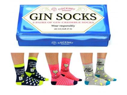 Veselé ponožky Gin Socks veľ.: 37-42